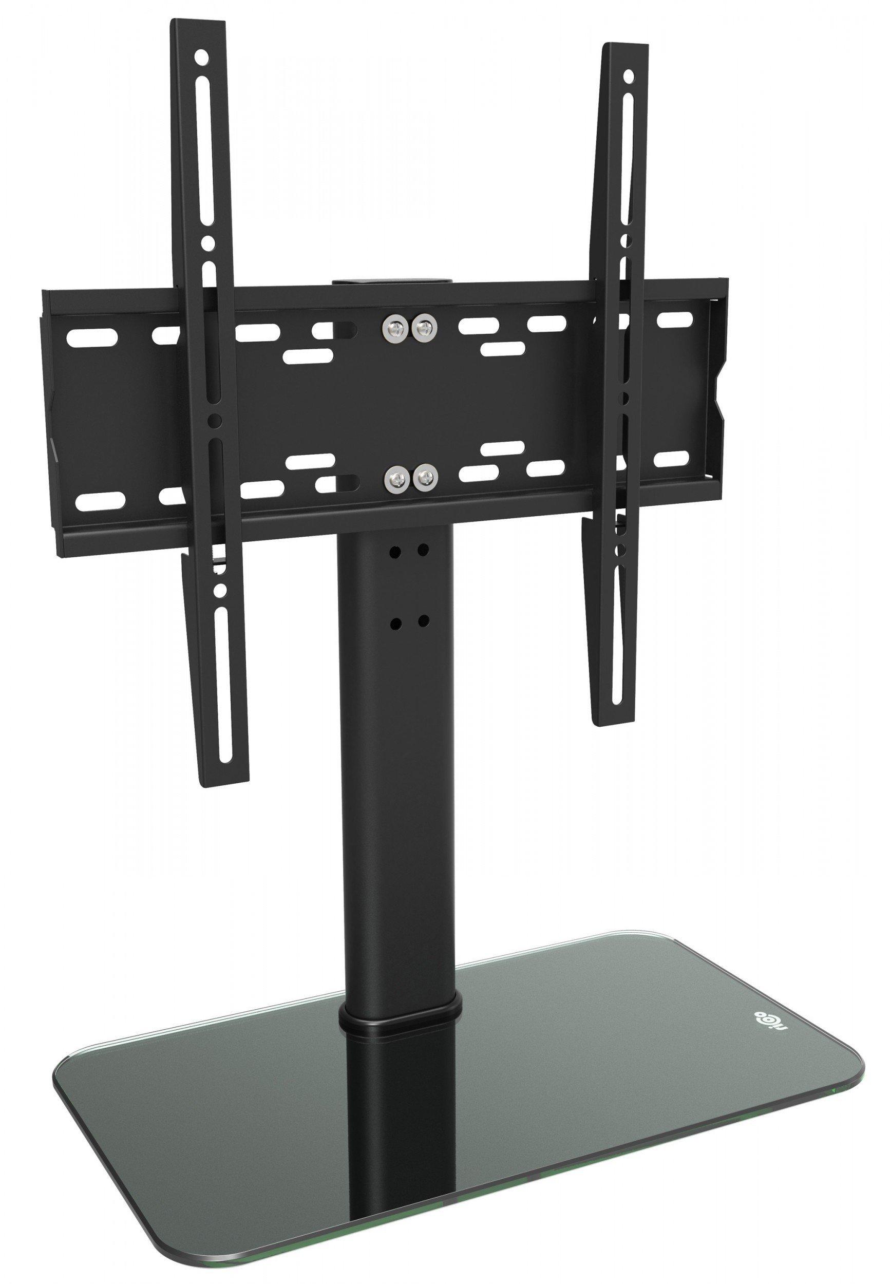 Ricoo Meuble Tv Design Fs304b Support Sur Pied En Verre Suspension