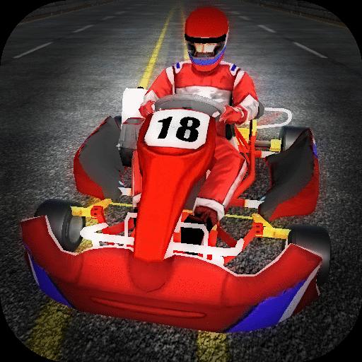 Go Kart Racing - Highway Traffic Madness