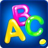 Abecedario para niños: juego educativo divertido para bebés para aprender alfabetos, escribir letras, aprender nuevas palabras y objetos de la vida cotidiana. El juego entrena habilidades motrices finas, curiosidad, memoria y capacidad de atención