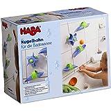Haba 6699 - Kugelbahn Badespaß Wasserstrudel, spritziger Kugelbahn-Spaß ab 3 Jahren für die Badewanne, Badespielzeug mit leichtem, variablen Aufbau
