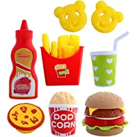 Toyshine Fast Food Party Play Fast Food Set 18 Piece Pretend Play Food Toy | Best Gifts Food Playset for Boys Girls Kids