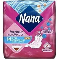 Nana Ultra Normal Plus - Serviette hygiénique avec ailettes - lot de 3 paquets de 14 serviettes