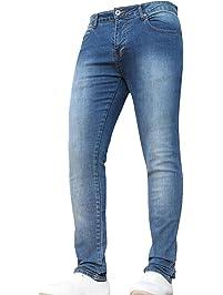 0a87be63e New Boys Kids Designer Stretch Slim Fit Denim Elasticated Waist Jeans Pants  Trousers