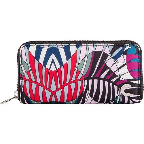 CARPISA® Portafoglio zip around fantasia - Foresta Wallet