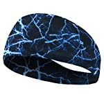 Athletic Gear Tapered Design Sports Headband Fitness Running Yoga for Men and Women