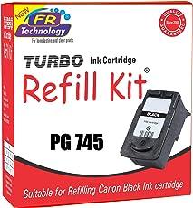 TURBO Ink Cartridge Refill Kit for Canon 745 (Black)