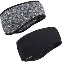 Fascia per Capelli Invernale, Roysmart Headband Sport Fascia Paraorecchie Fascia Elastica per Running, Sciare, Uomo…
