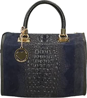Chicca Borse Bag Borsa a Mano in Pelle Made in Italy cm