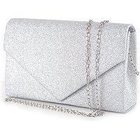 Pochette glitter donna elegante da cerimonia sera matrimonio party signora borsa a mano piccola ragazza clutch gioiello…