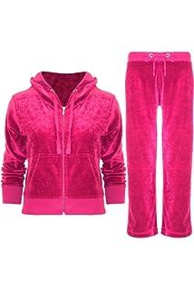 Women Stripe Tracksuit Hooded Ladies Tops Lounge Wear Gym Pants Sports Club Sets