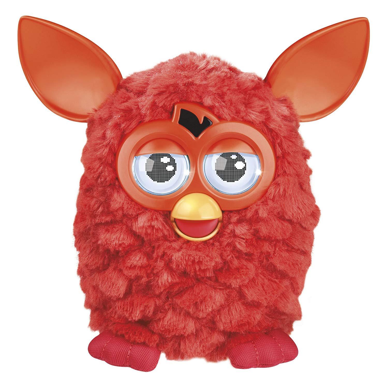Furby Hasbro Rojo Niño/niña Juego Educativo Mascota Electrónica Version Española