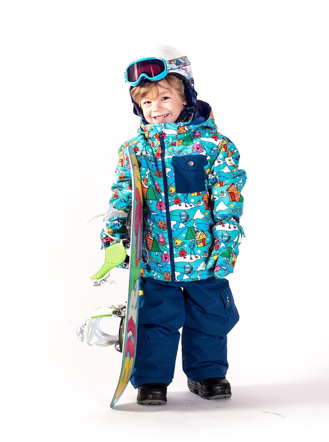Quiksilver Mr Men Rookie – Mono para Snow para Niños 2-7 EQKTS03003