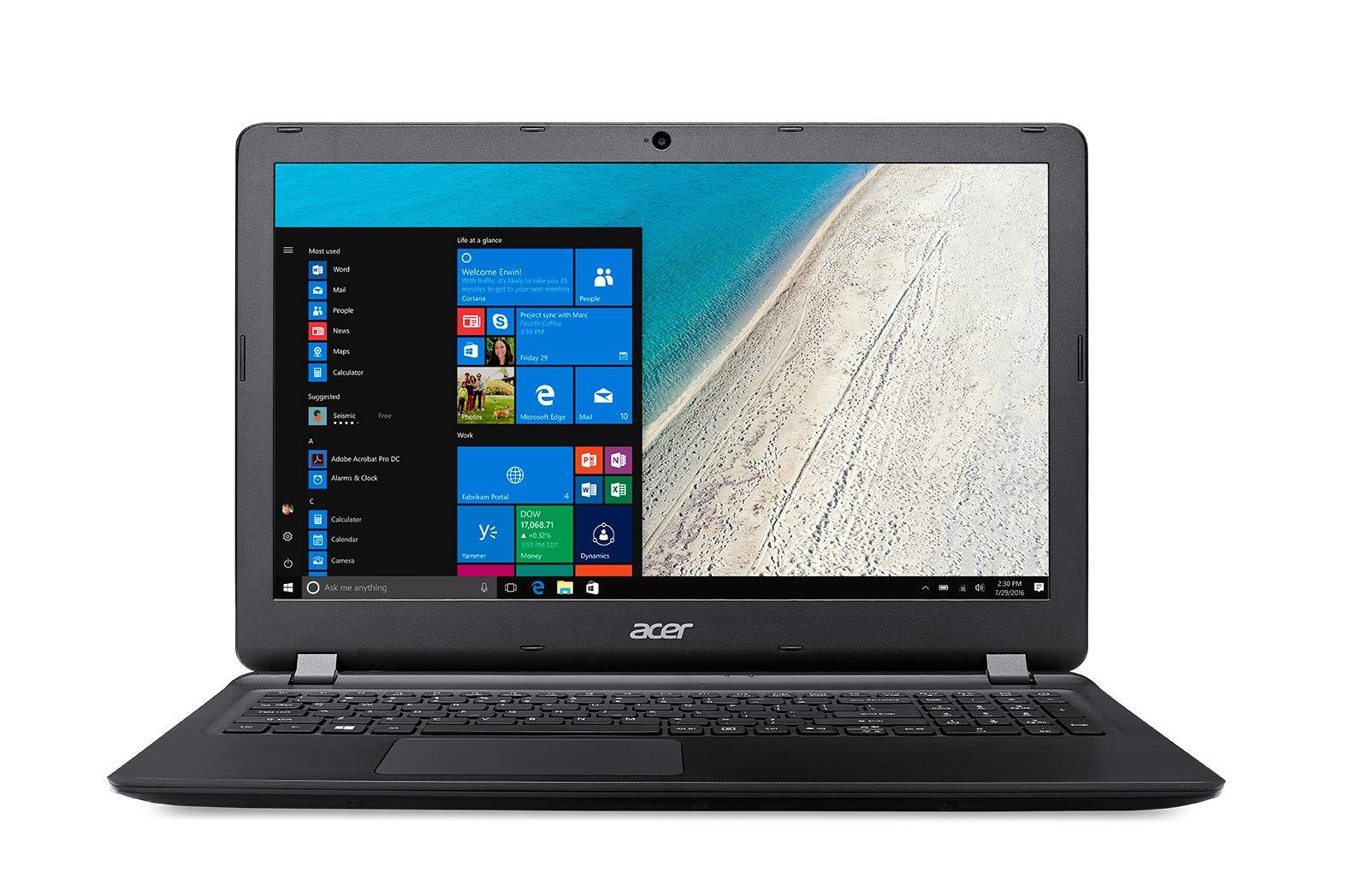 Acer Extensa 15 2540-53W6 – Ordenador Portátil 15.6″ HD (Intel Core I5-7200U, 8 GB de Ram, HDD de 1 TB, Intel HD Graphics 620, Windows 10 Home) Negro – Teclado QWERTY Español