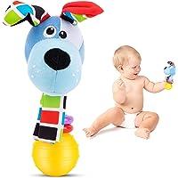 LUDAZON Sonaglio Neonato Montessori, Sviluppa Le capacità Motorie e Sensoriali, Giochi Neonato 0-3 4 5 6 7 8 9 10 11 12…