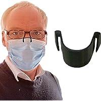 1 pince de nez anti-buée pour masque - Empêche la buée et la vapeur - Respiration plus lisse - Recyclable - Entièrement…