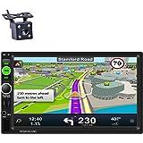 REAKOSOUND autoradio 2 din bluetooth 7 pollici Stereo Touch Screen GPS Navigazione supporto Radio AM/FM/RDS/USB/AUX…