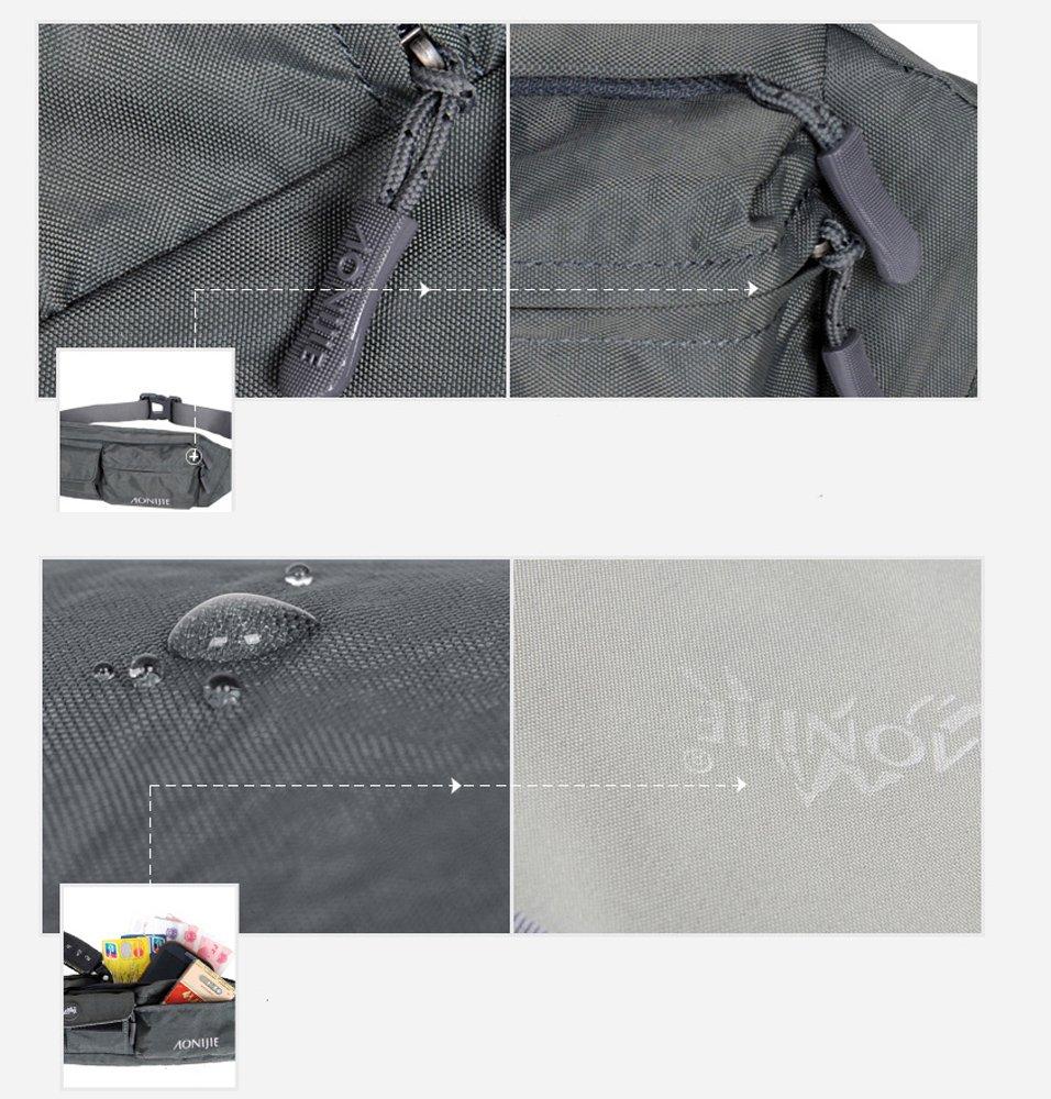 71%2BuGJXvTkL - Waterfly Waist Bag Pack Slim Water Resistant Fanny Pack Travel Bum Bag Running Belt for Traveling Cy