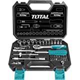 MR LIGHT TOTAL 45 Pieces 1/4 Inches Socket Set, THT141451