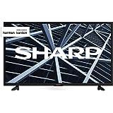 "Sharp Aquos LC-32BB5E - 32"" HD Ready LED TV, DVB-T2/S2, 1366 x 768 Pixels, Nero, suono Harman Kardon, 3xHDMI 2xUSB, 2019"