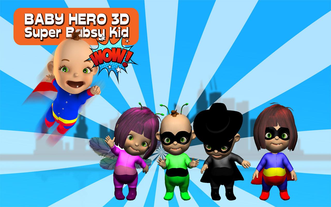 Zoom IMG-2 baby hero 3d super babsy
