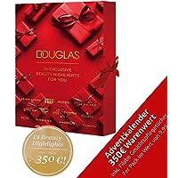 DOUGLAS Adventskalender 2021 Beauty -EXKLUSIV EDITION- Frauen + Mädchen Kosmetik Advent Kalender , 24 Kosmetik Geschenke…