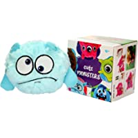 Pawsindia Bouncing Aliens Interactive Plush Electric Bouncer Dog/Cat Toy Blue