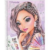 Depesche 10728 – Livre de coloriage, TOPModel Create Your Makeup up, env. 24 x 19,5 x 1 cm.