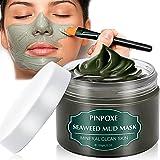 Blackhead Remover Maske, Mitesser Maske, Anti Aging Mask, Gesichtsmaske mit Algen, gegen unreine Haut, Akne, fettige…