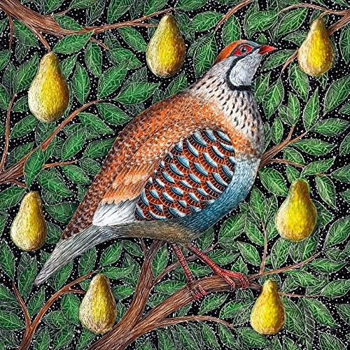 MacMillan Cancer Support Weihnachten Karten, 8Stück–Rebhuhn in einem Birnbaum