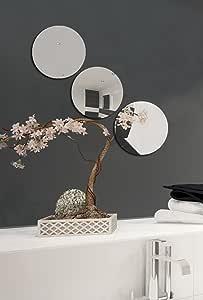 Runder Spiegel Wandspiegel Dekoration 3 mm Stärke Fliesenspiegel