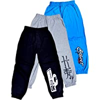 T2F Boys' Joggers Track Pant (Pack of 3)