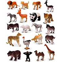 KMC International Kids New Toy Animals Play Set for Kids Different Zoo Wild Jungle Animal Toys Animal Zoo (Multi)