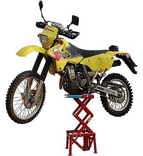 Zerone Motorrad Hebeb/üHne Einstellbare Lift Jack Lift Stand Repairing Tabelle f/ür Abenteuer Touring Motorrad Street Bike
