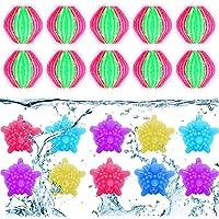 Boule de Lavage Color, Boule De Lavage Balle à Billes Réutilisable,Pour Nettoyage des Vêtements et Épilation Dans la…
