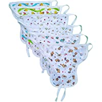 Sunuo Baby's Cotton Cloth Diapers/Langot Washable and Reusable Nappies (Multicolour, 0-6 Months) Pack of 10 Pieces…
