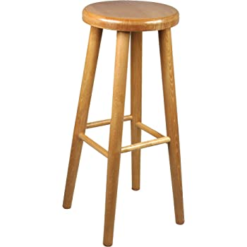 bar stool wooden chair brand new beech solid wood bar pub new 2 4 ft rh amazon co uk wooden bar stools with backs wooden bar stools for sale