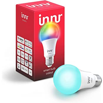 Innr E27 Bombilla LED conectada, color, RGBW, Philips Hue* compatible (285C