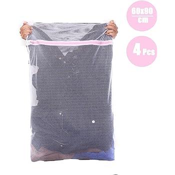 Meowoo Wäschesack Groß Waschbeutel für Waschmaschine