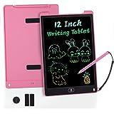 KidsPark LCD Schreibtafel, 12 Zoll Writing Tablet Kinder Spielzeug, Magic Drawing Pad für Kinder Jungen Mädchen Erwachsene zu
