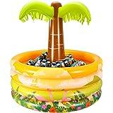 Aufblasbare Palme Pool Deko Dekopalme Poolparty Deko Partypalme Aufblaspalme XXL