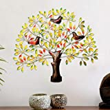 Urban Tree'Z Colorful Metal Tree Wall Hanging for Home Wall Décor