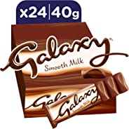 Galaxy Smooth Milk Chocolate Bars, 40g x 24