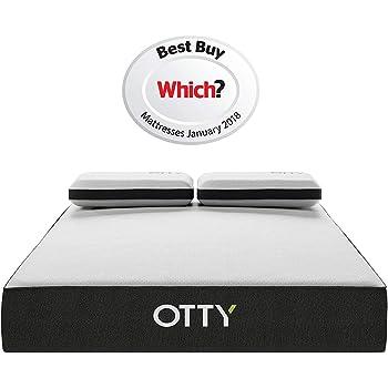 otty matelas haut de gamme avec ressorts ensach s mousse m moire de forme 2000 micro. Black Bedroom Furniture Sets. Home Design Ideas