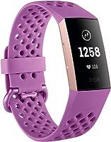Fitbit Charge 3 Pulsera Avanzada de Salud y Actividad física, Unisex Adulto