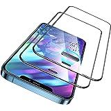 ESR Armorite skärmskydd kompatibelt med iPhone 12 och 12 Pro, 49,9 kg kraftmotstånd, ultratålig härdat glas skärmskydd med hö