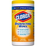Clorox Disinfecting Wipes Lemon Fresh, Bleach Free Cleaning Wipes - 75 Wipes, Packaging May Vary