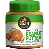 DiSano Unsweetened peanut butter 100% natural(high in protein,no hydrogenated oil,gluten free) 1 Kg