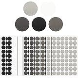 540 stks Zelfklevende Schroef Gat Covers Stickers 21mm Getextureerde PVC Schroef Hoofd Covers Caps Stickers voor Houten Meube