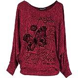 Emma & Giovanni - T-Shirt/Top/Camiseta para el Verano - Mujer