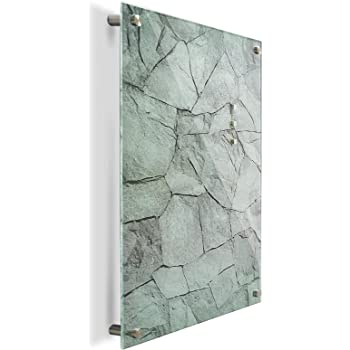 sale online save up to 80% online for sale Brushed Stainless Steel Magnetic Notice Memo Board (A1 ...